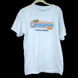 Chankanaab Cozumel Mexico Shirt Medium White